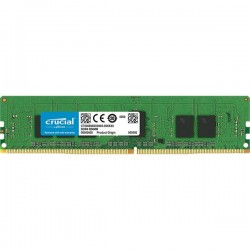 Crucial by Micron DDR4    4GB (PC4-21300) 2666MHz ECC Registered SR x8, 1.2V CL19 (Retail)