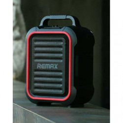 Портативная акустика Remax RB-X3 Bluetooth, USB, AUX, SD, Mic, 2200mAh, Black