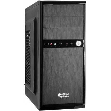 Корпус ATX 400w Exegate AA-326L (Black, USB, Audio)