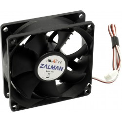 Кулер Zalman ZM-F1 Plus (SF) (ball/20-23dB/2000rpm,80x80x25)