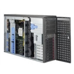 Supermicro SuperWorkstation GPU 4U 7049GP-TRT noCPU(2)Scalable/TDP 70-205W/ no DIMM(16)/ SATARAID HDD(8)LFF/ 2x10GbE/ 7xFH, M2/ 2x2200W