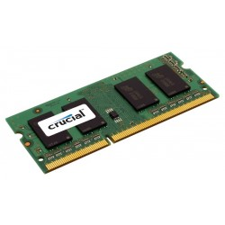 Модуль памяти Crucial by Micron  DDR3L   4GB 1600MHz SODIMM (PC3-12800) CL11 1.35 (Retail)