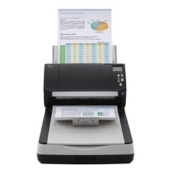 Fujitsu scanner fi-7260 (flatbed, CCD, A4, long document to 210x5588 mm, 600 dpi, 60 ppm/120 ipm, ADF 80 sheets, Duplex, 1 y warr)