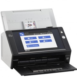 Fujitsu scanner N7100 ( network, CIS, A4, long document to 3048 mm, 600 dpi, 25 ppm/50 ipm, ADF 50 sheets, Duplex, 100Base-T/100Base-TX/1000Base-T, 1 y warr)