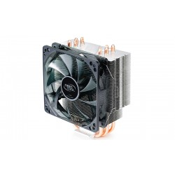 Кулер DeepCool GAMMAXX 400 Red LED (125W/32dB/1500rpm/Al+Cu,S1155/1156/1366/775/AMx/FMx)