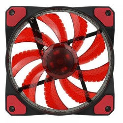 Кулер GameMAX GMX-GF12R (600-1400rpm/3pin/Red Led,120x120x25)