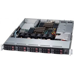 Supermicro SuperServer 1U 1028R-WTR no CPU(2) E5-2600v3/v4 no memory(16)/ on board C612 RAID 0/1/5/10/ no HDD(10)SFF/ 2xGE/ 2xFHHL/ 2x750W Platinum/ Backplane 10xSATA/SAS