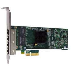 Silicom PE2G4I35L Quad Port Copper Gigabit Ethernet PCI Express Server Adapter X4, Based on Intel i350AM4, Low-Profile, RoHS compliant (analog I350T4V2)