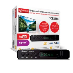 Ресивер DVB-T2 D-Color DC922HD