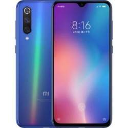 "Смартфон Xiaomi Mi9 6/64 Ocean Blue 2sim/6.39""/2340*1080/8*2.84+2.42+1.8ГГц/6Gb/64Gb/mSD/48+16+12Мп/Bt/WiFi/GPS/And9.0/3300mAh"