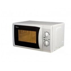 Микроволновая печь Midea MM720CFB White (800Вт,20л,механ-е упр.)