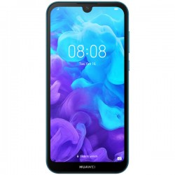 "Смартфон Huawei Y5 2019 Blue 2sim/5.71""/1520*720/4*2ГГц/2Gb/16Gb/mSD/13Мп/Bt/WiFi/GPS/And9/3020mAh"