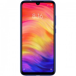 "Смартфон Xiaomi Redmi Note 7 4/128Gb Blue 2sim/6.3""/2340*1080/8*1.8+2.2ГГц/4Gb/128Gb/mSD/48+5Мп/Bt/And9.0/4000mAh"