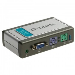 Переключатель KVM D-Link KVM-121 2-port PS/2 VGA
