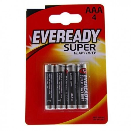 Батарейки AAA Eveready Super 4шт уп