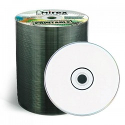Диск DVD+R 100шт Mirex 4.7Gb 16x Printable Shrink (UL130029A1T)