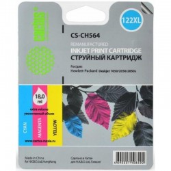 Картридж струйный CACTUS CS-CH564 №122XL для HP DeskJet 1050/2050/2050s color