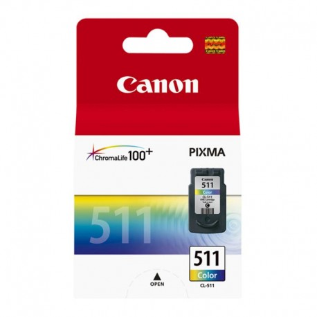Картридж струйный CANON CL-511 для PIXMA MP240/260/480/MX320 Color (2972B007)